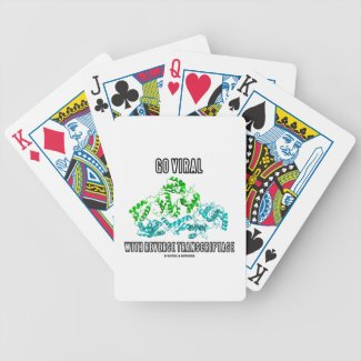 Go Viral With Reverse Transcriptase Bicycle Poker Cards