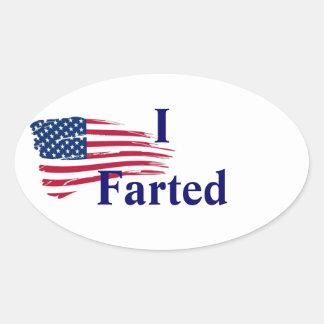 go vote oval sticker