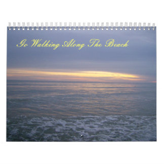 Go Walking Along Oak Island Calender Calendar
