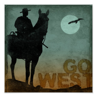 Go West Poster
