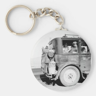 Go West Young Family, 1936 Keychain