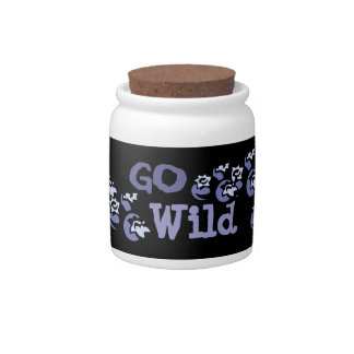 Go Wild Canister Candy Jar