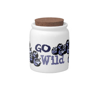 Go Wild Canister Candy Dish