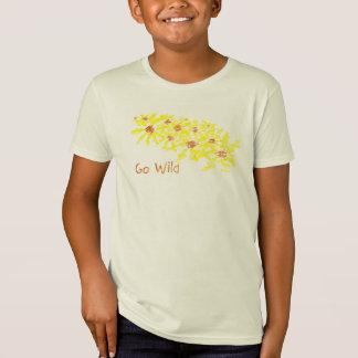 Go Wild Flowers Shirt