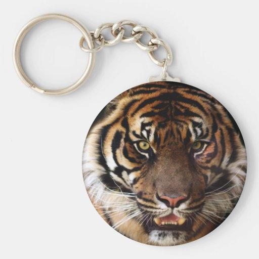 Go Wild Tiger Keychains