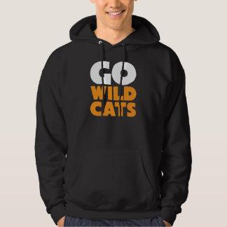 GO WILDCATS! Black Hoodie Sweatshirt
