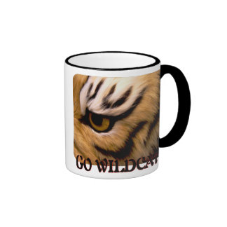 GO WILDCATS CUP RINGER COFFEE MUG