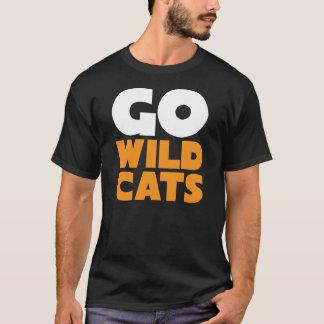 Go Wildcats Mens Black Tee