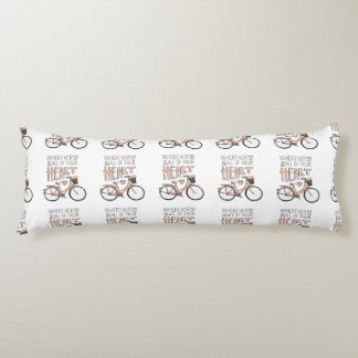 Go With All Of Your Heart – Vintage Bicycle Body Pillow