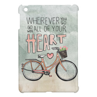 Go With All Of Your Heart – Vintage Bicycle Case For The iPad Mini