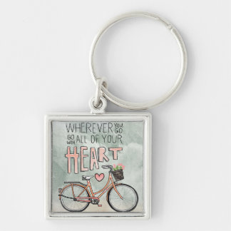Go With All Of Your Heart – Vintage Bicycle Key Chains