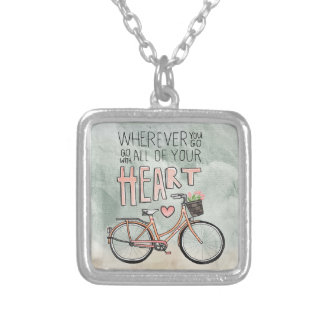 Go With All Of Your Heart – Vintage Bicycle Necklaces