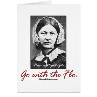 Go with Florence Nightingale Card