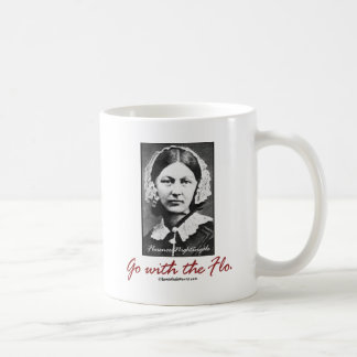 Go with Florence Nightingale Coffee Mug