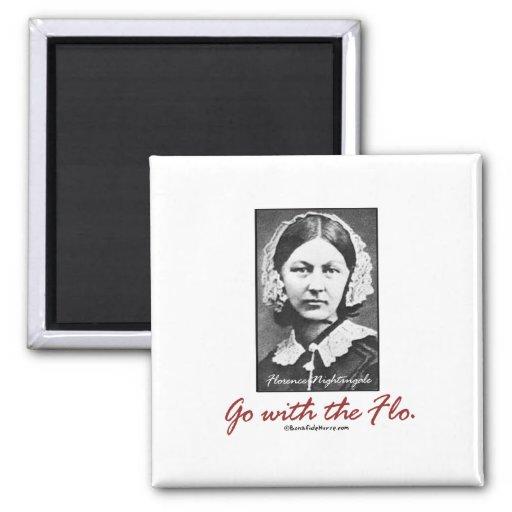 Go with Florence Nightingale Fridge Magnets