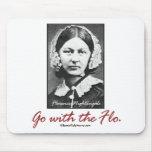 Go with Florence Nightingale Mousepad