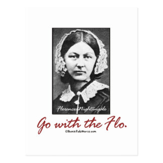 Go with Florence Nightingale Post Cards