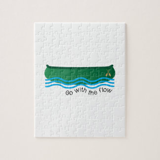 Go With Flow Jigsaw Puzzle
