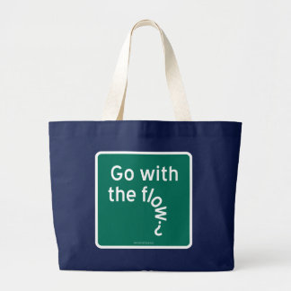 Go with the flow tote bags