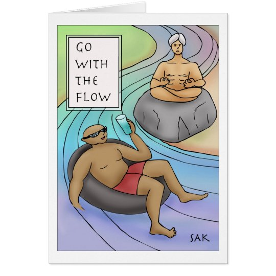 Go With The Flow Card