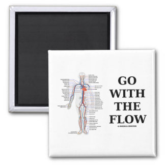 Go With The Flow (Circulatory System Attitude) Magnets