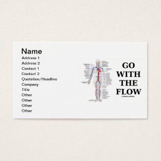 Go With The Flow (Circulatory System) Business Card