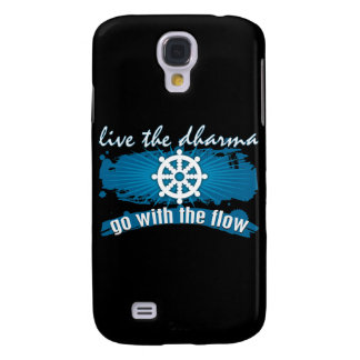 Go with the Flow Dharma Galaxy S4 Case