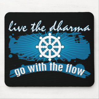 Go with the Flow Dharma Mousepad
