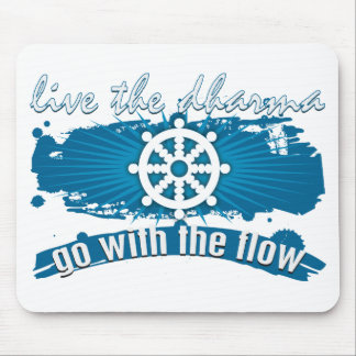 Go with the Flow Dharma Mousepads