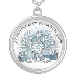 Go With The Flow Griffin & Om Symbol Custom Jewelry