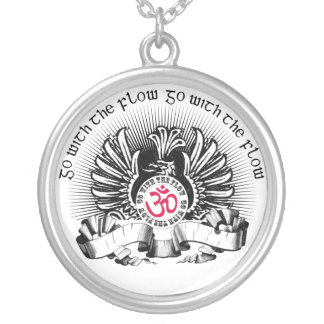 Go With The Flow Griffin & Om Symbol Pendant