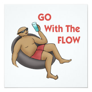 Go with the Flow Invitation