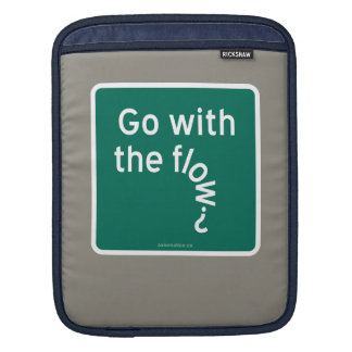 Go with the flow? iPad sleeve