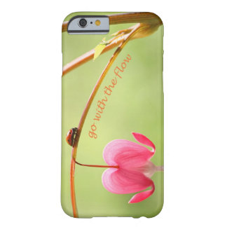 Go With the Flow Ladybug and Flower Barely There iPhone 6 Case