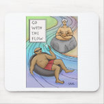 Go With The Flow Mouse Pads