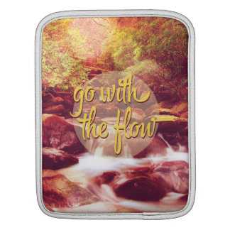 Go With The Flow River Sleeves For iPads