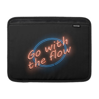 Go with the flow. sleeve for MacBook air