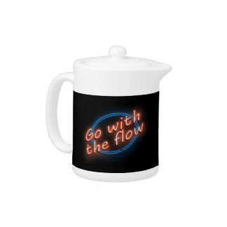 Go with the flow. teapot