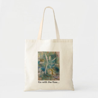 """Go with the flow"" Tote"