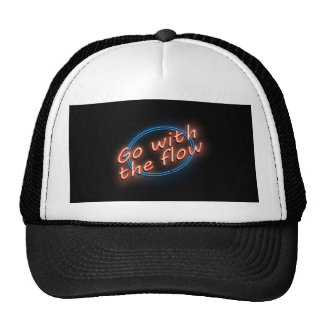 Go with the flow. trucker hat