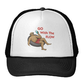 Go with the Flow Trucker Hat