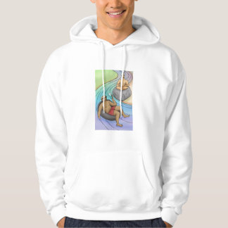 Go With The Flow with Rock Water Flower Essence Sweatshirt
