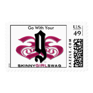 Go With Your Skinny Girl Swag Stamp