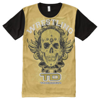 go wrestler All-Over-Print T-Shirt