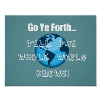 Go Ye Forth... Poster
