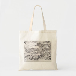 Go ye into the Emmaus by Pieter Bruegel the Elder Budget Tote Bag