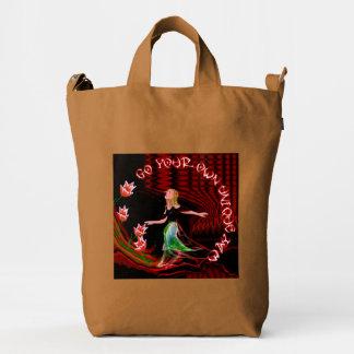 Go Your Own Unique Way Duck Bag