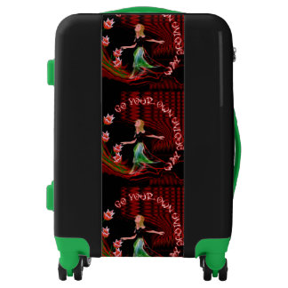Go Your Own Unique Way Luggage