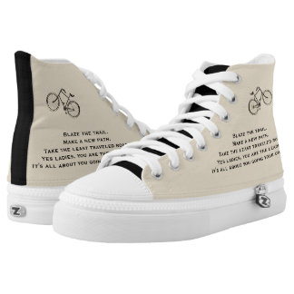 Go your own way High-Top sneakers