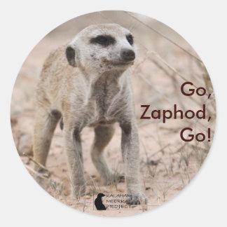 Go, Zaphod, go! - Sticker